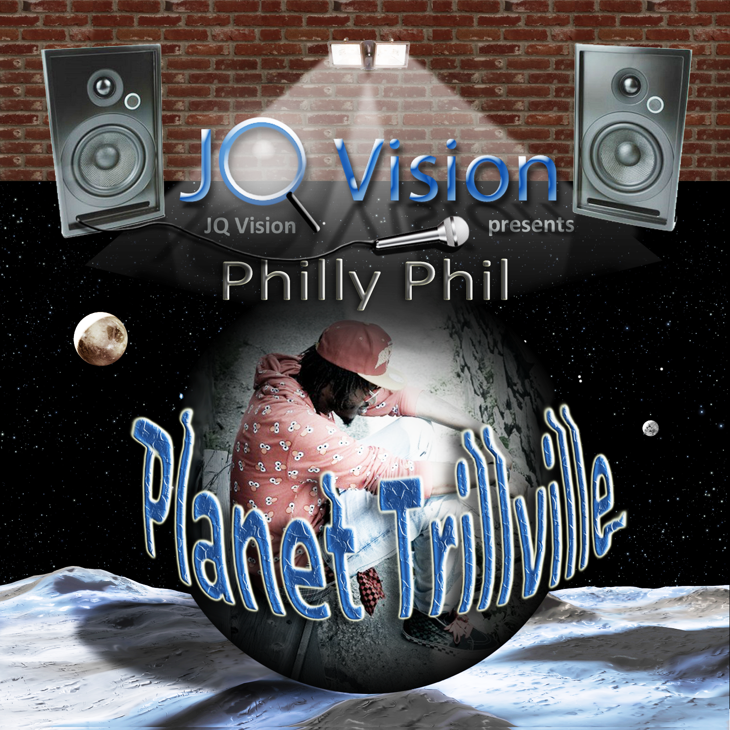 Philly Phil - CD Cover Insert - Front