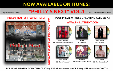 Philly's Next - Flyer Card